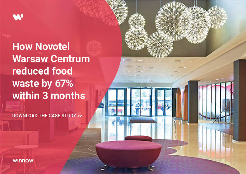 How Novotel Warsaw reduced food waste by 67%