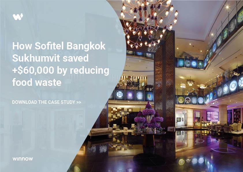 Sofitel Bangkok Sukhumvit saved $60,000 by reducing food waste