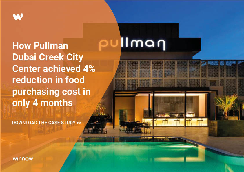 Pullman Dubai achieved 4% reduction in food purchasing cost in 4 months