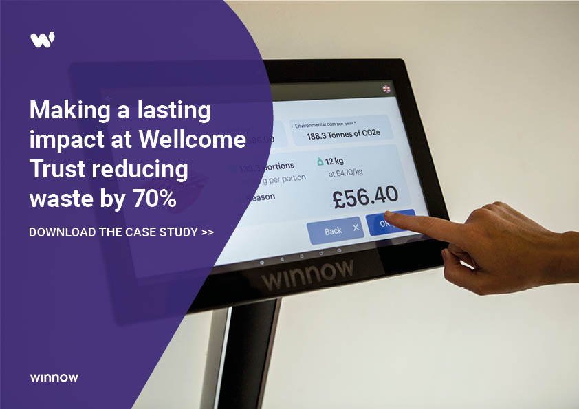 Wellcome Trusta reduced food waste by 70%
