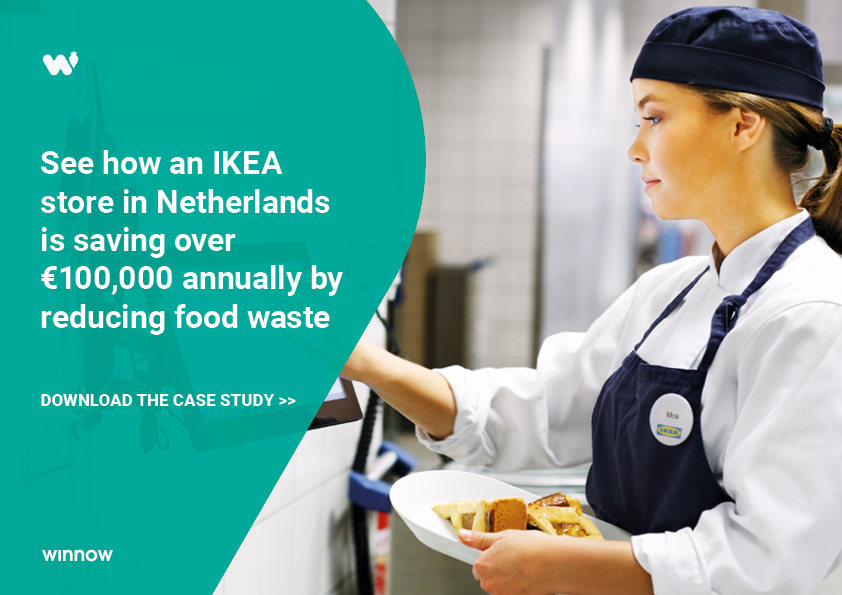 IKEA Netherlands is saving over €100,000 annually by reducing food waste