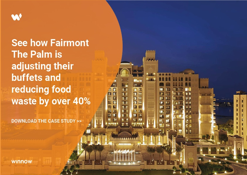 Fairmont The Palm Dubai reduced food waste by 40%