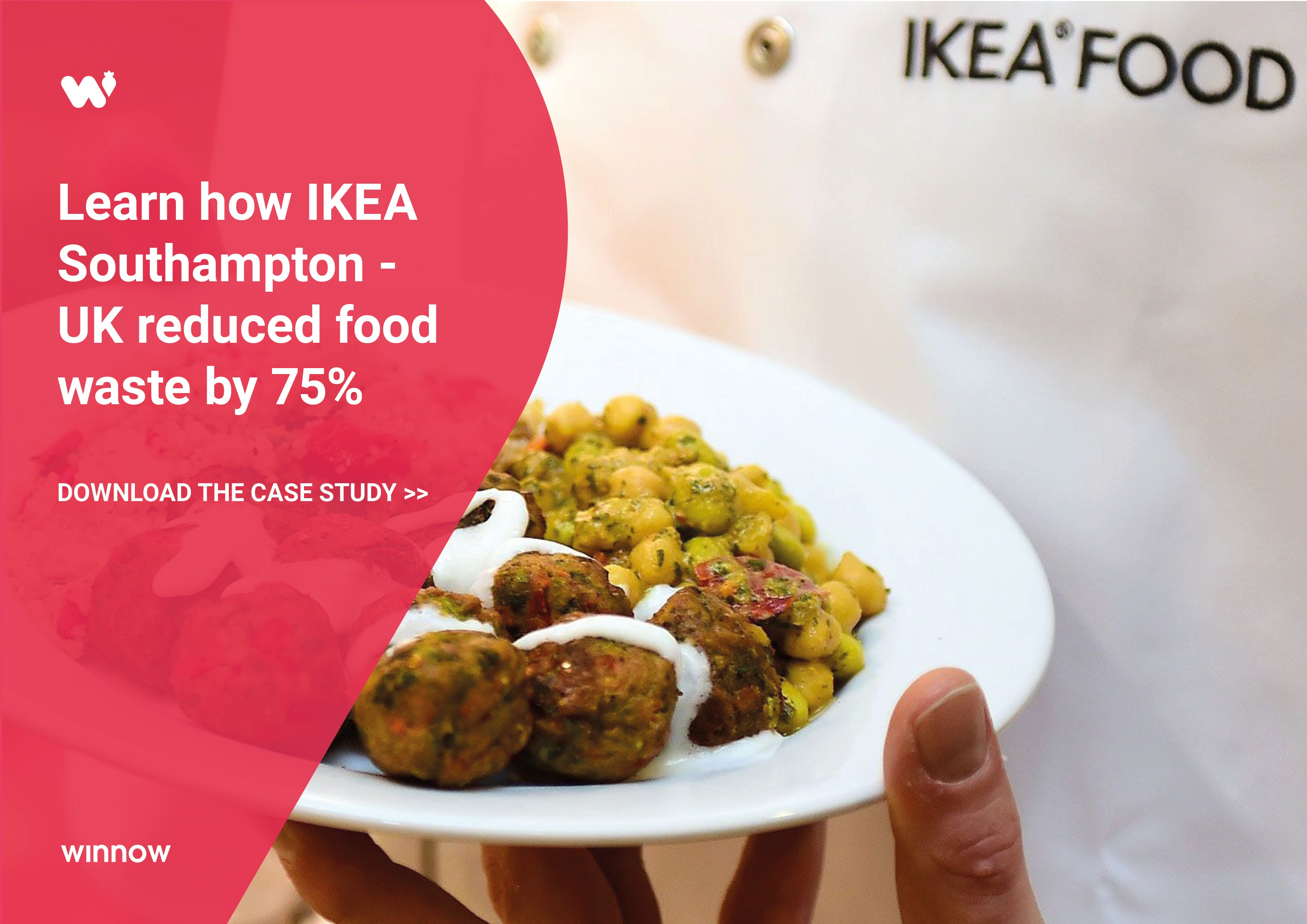 IKEA Southampton reduced food waste by 75% with Winnow