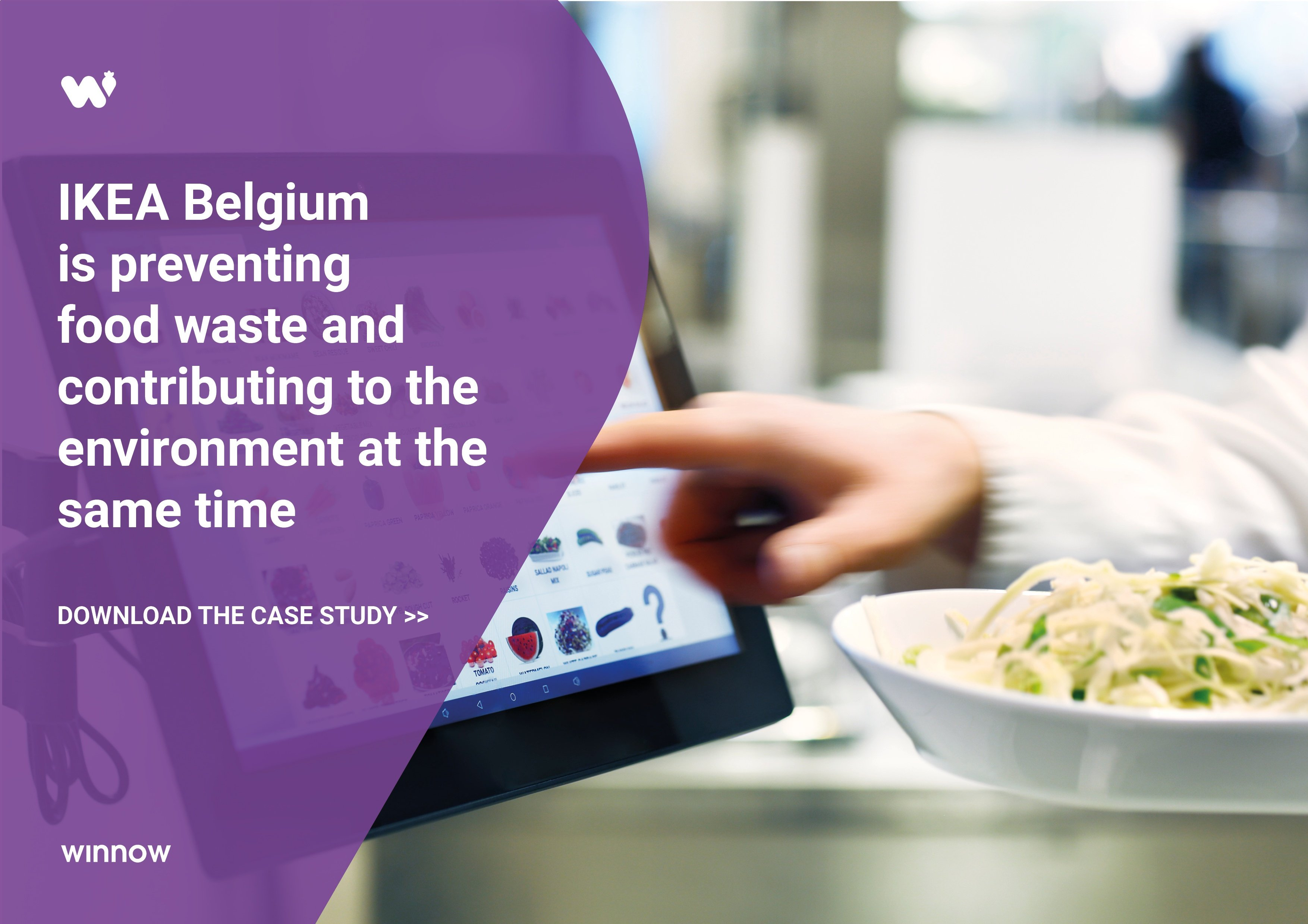 IKEA Belgium is preventing food waste and helping the environment