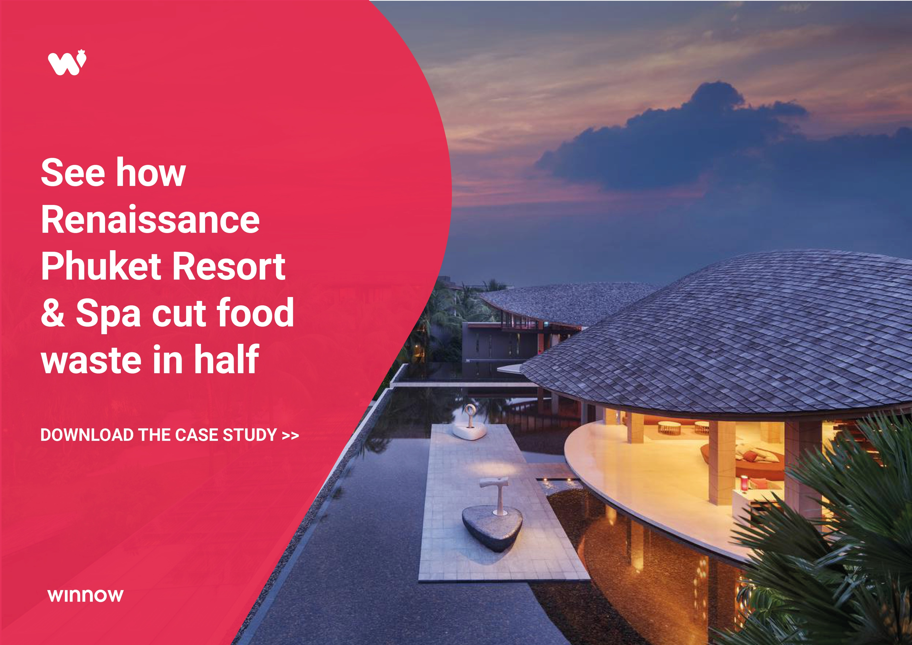 Renaissance Phuket cut food waste in half