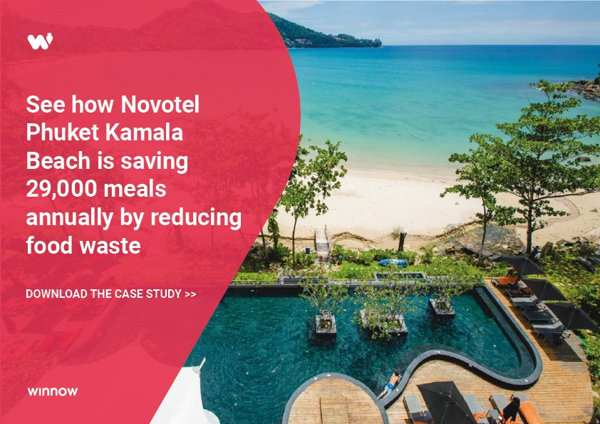 Novotel Phuket Kamala is saving 29,000 meals annually