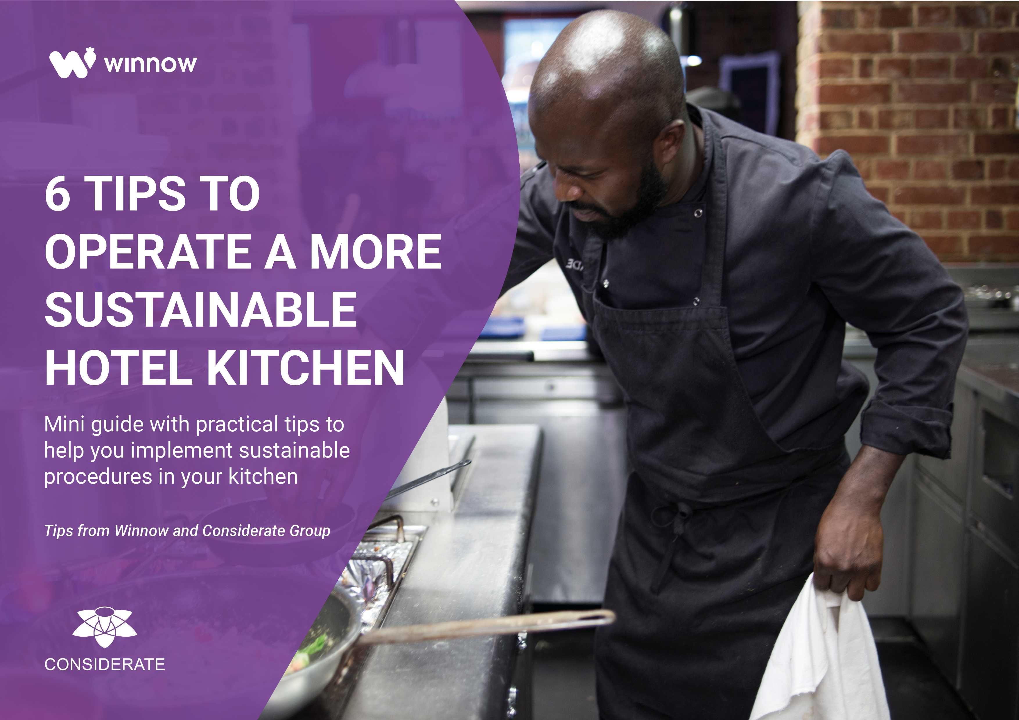 6 tips to operate a more sustainable kitchen