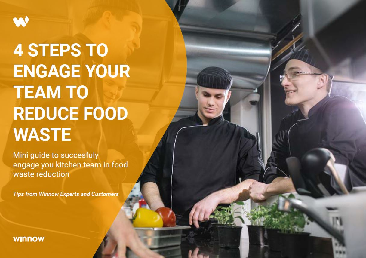 14 Steps to engage your team to reduce food waste
